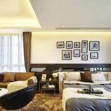 123平米现代别墅客厅装修效果图