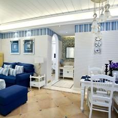 精美二居餐厅地中海装修设计效果图