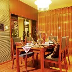 二居餐厅东南亚装修实景图