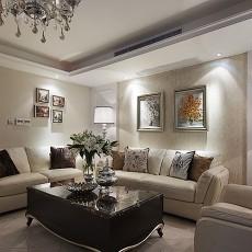 热门面积89平小户型客厅欧式装修效果图片欣赏