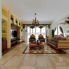 整体客厅沙发效果图欣赏
