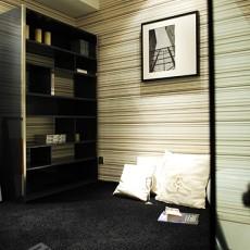 精美127平米简约复式书房装修效果图片大全