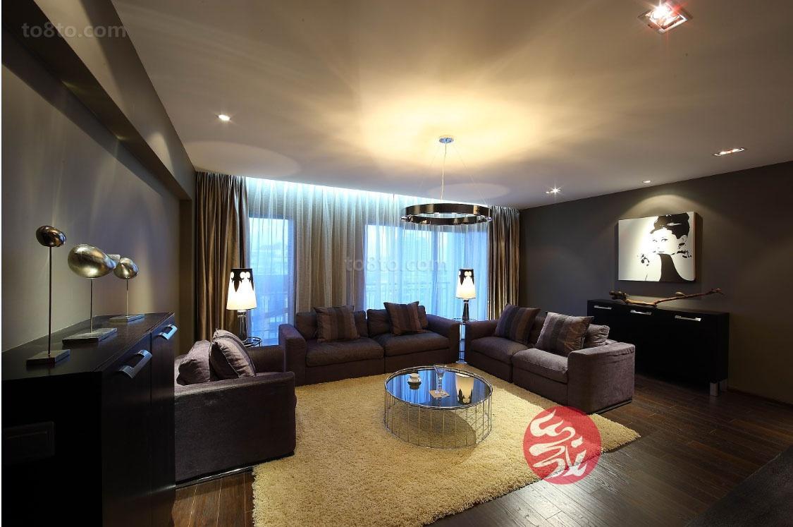 一居客厅现代装修图片大全