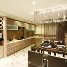 精美75平米二居厨房现代装修设计效果图片欣赏