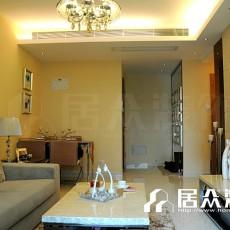 精选面积70平小户型客厅现代装修效果图片欣赏