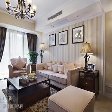 精美88平米欧式小户型客厅装饰图