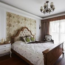 2018精选美式二居卧室装修效果图