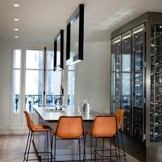 201873平米二居餐厅现代装修设计效果图片欣赏