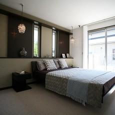95平米三居卧室现代装修实景图片大全
