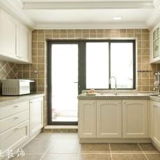 面积86平现代二居厨房装修实景图片大全