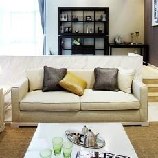 精美117平米现代复式客厅装修效果图