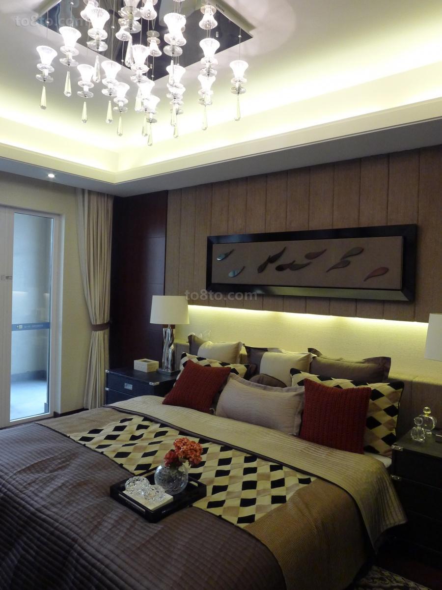 精美简约二居卧室装饰图片