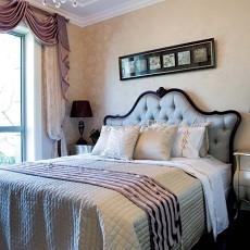 精美欧式二居卧室效果图