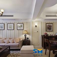 精美复式客厅欧式效果图