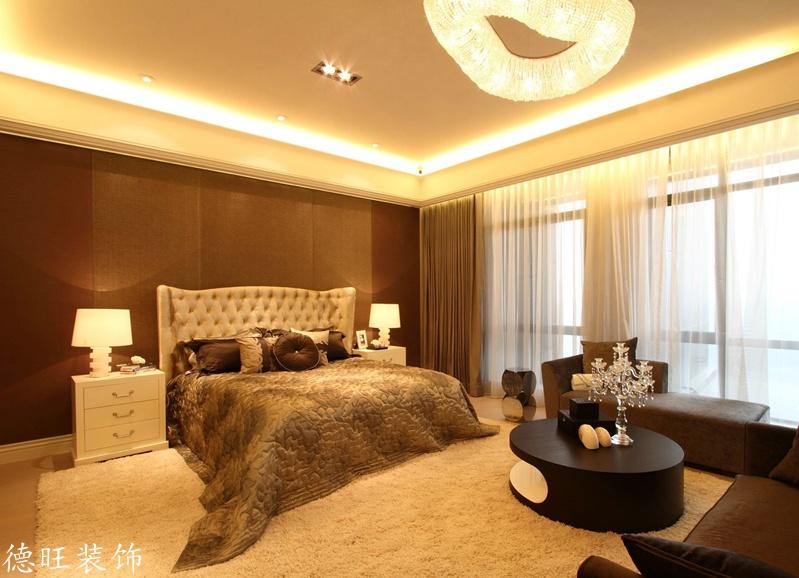 热门面积74平欧式二居卧室实景图片欣赏