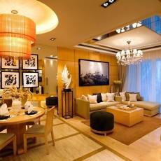 热门89平米现代小户型客厅设计效果图