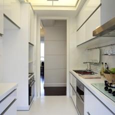 精美面积87平简约二居厨房实景图