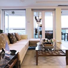 精美面积89平现代二居客厅效果图片大全