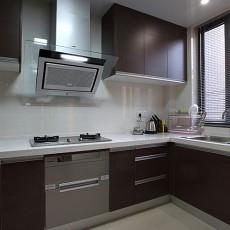 热门现代二居厨房装修效果图