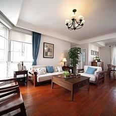热门90平米二居客厅中式欣赏图