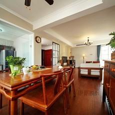 精美72平米二居餐厅中式装修实景图