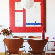 精美面积88平现代二居餐厅效果图片大全