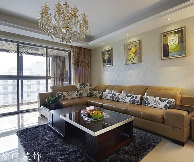 热门79平米二居客厅简约实景图片欣赏