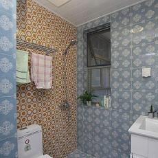 热门面积83平小户型卫生间现代装修设计效果图片