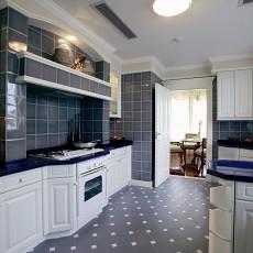 2018精选111平米欧式别墅厨房装修设计效果图片