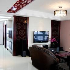 88平米中式小户型客厅实景图片大全