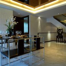 2018精选东南亚别墅餐厅装修设计效果图片大全