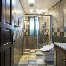 103平米三居卫生间现代效果图片欣赏