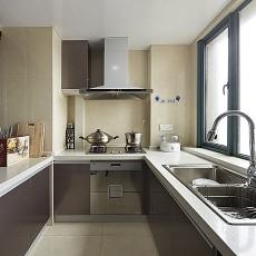精选92平米三居厨房现代装修效果图