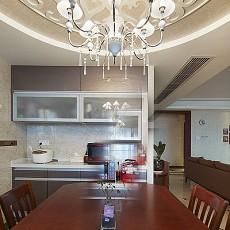 2018精选107平方三居餐厅现代欣赏图片大全