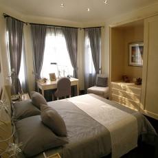热门141平米欧式别墅卧室装修设计效果图片大全