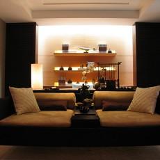 精选88平米二居书房东南亚装修效果图片大全