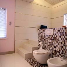 精美118平米现代复式卫生间效果图片