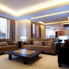 精美84平米二居客厅现代装修实景图片大全