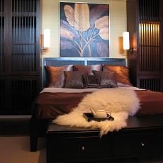 精美东南亚二居卧室装修实景图片欣赏