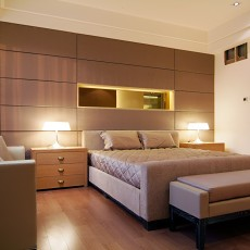 热门83平方二居卧室现代设计效果图