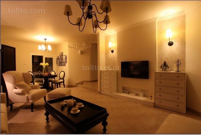 精选面积89平小户型客厅欧式装修图片欣赏