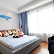 热门89平米二居卧室现代装修图片