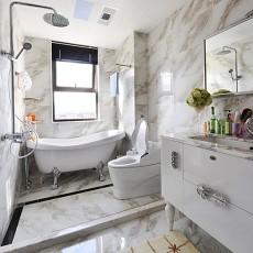 精选127平米欧式别墅卫生间装修设计效果图片欣赏