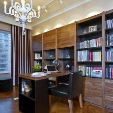 热门125平方欧式别墅书房效果图片欣赏