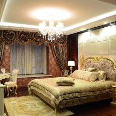 热门面积77平欧式二居卧室欣赏图片大全
