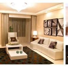 85平米现代小户型客厅装修图片