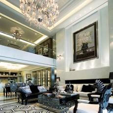 精选大小134平别墅客厅现代装修图片大全
