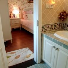 复式卧室田园装饰图片