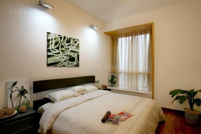 精美大小77平现代二居卧室装修设计效果图片大全