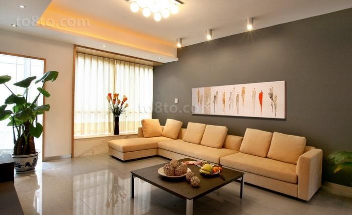 精选简约二居客厅装修设计效果图